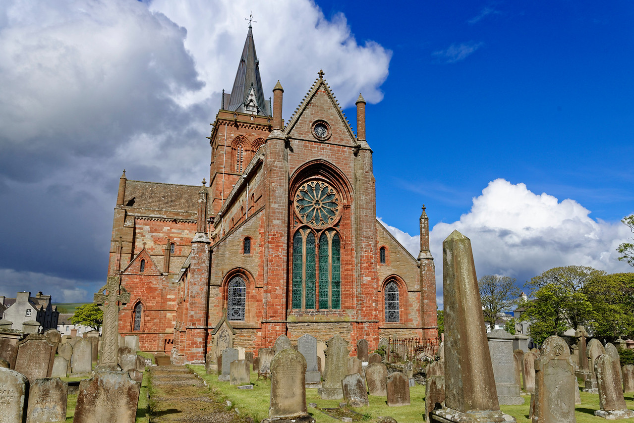 St.Olaf's Cathedral, Kirkwall, Orkney.