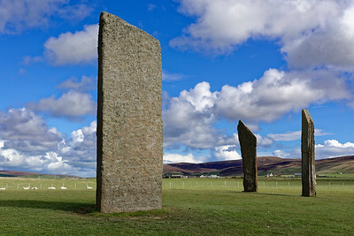 Standing Stones of Stenness, Orkney.