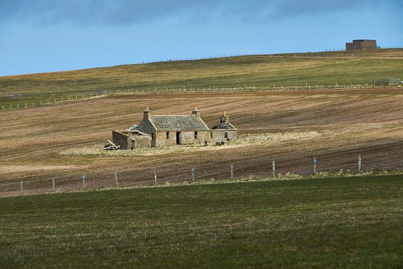Closer shot of farmhouse
