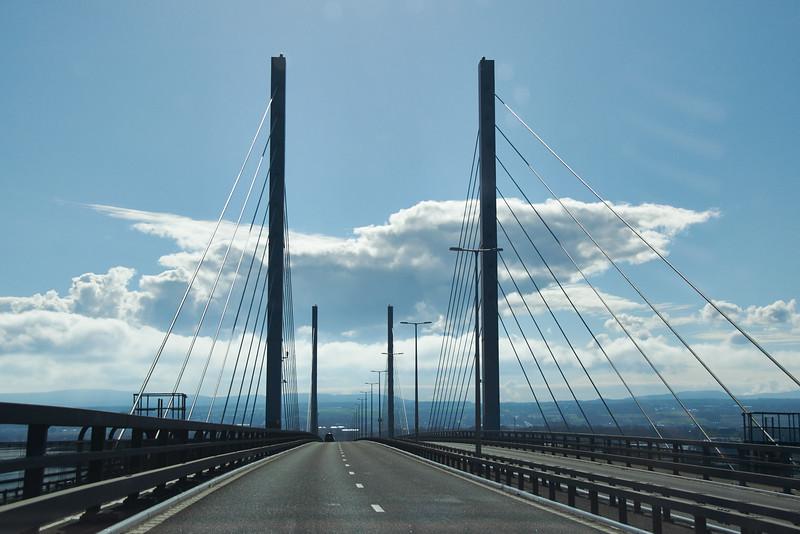 The Kessock Bridge, Inverness