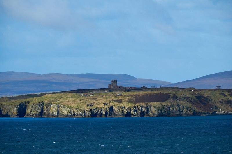 The Balfour Coastal Defence Batteries, Hoxa Head, South Ronaldsay.