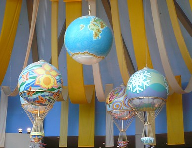 Air baloons (inside) Epcot