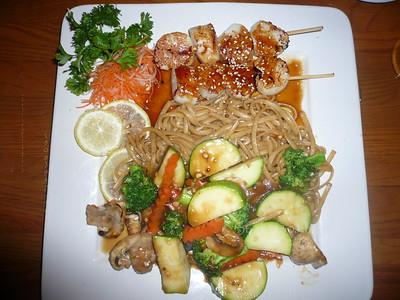 Kobe plate 1 scallops