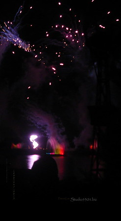 Epcot fireworks 3