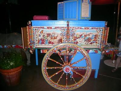 Cart at Epcot