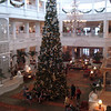 Lobby of Grand Floridian Hotel.