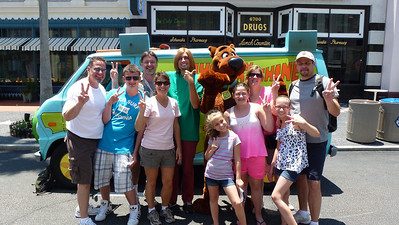 All of us with Scooby and Shaggy