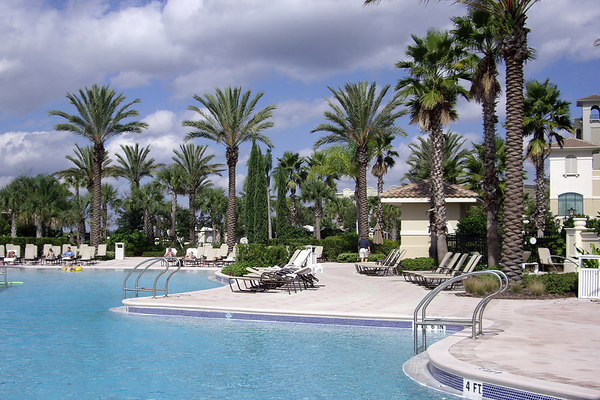 """<font size=""""3"""">The weather was cool and breezy during the visit.  Very few guests took advantage of the pools.</font>"""