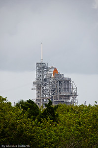 Endeavor on Launch Pad 39B (STS 127).