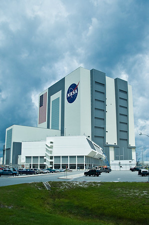 Vehicle Assembly Building and Launch Control Center.