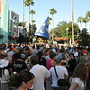 Believe it or not, this whole crowd was headed to the Toy Story ride to apply for their FastPass to ride it later in the day.