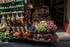 Fruit market in Siena.