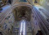 Altar area frescoes-Orvieto Cathedral.