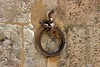 A livestock hitch ring on a wall in Siena, a city established somewhere between 900 and 400 B.C.