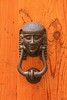 Italians love ornate door knockers and Siena had its share.