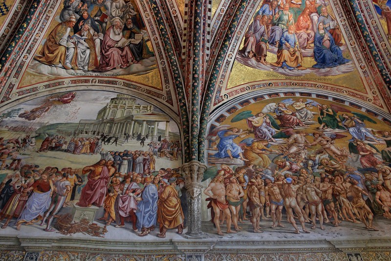 The church knew what it wanted out of this room, and negotiations with competent artists were reportedly detailed, lengthy, and exhaustive.