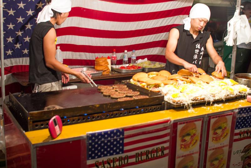 """""""Sasebo Burger"""" was being ultra-American"""