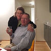 Bruce and Sally Larsen at our apartment at 33 Platous gate. November 30, 2016.