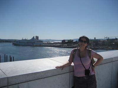 Oslo - Cu Shannon la Cristina