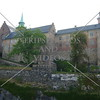 Akershus Fortress at the Cruise Ship Port in Oslo, Norway.