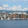 View from Cruise Ship Port in Oslo, Norway.