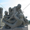 Sculptures at Vigeland Park in Oslo, Norway.
