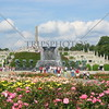 View at Vigeland Park in Oslo, Norway.