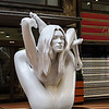 Sculpture of Kate Moss in Front of the Clarion Collection Hotel