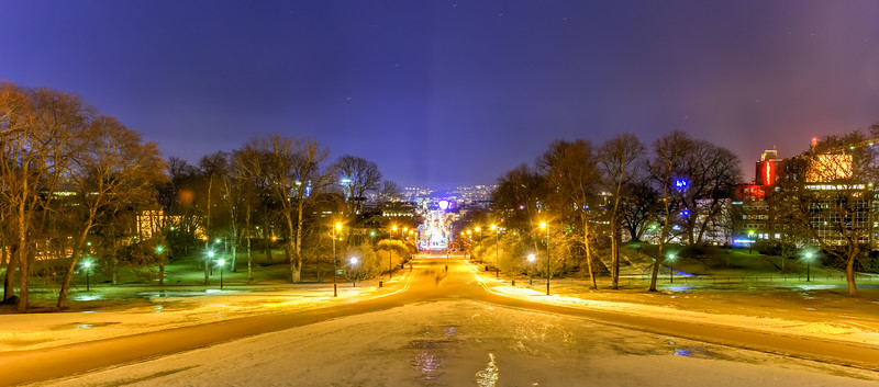 Karl Johans Street - Oslo, Norway