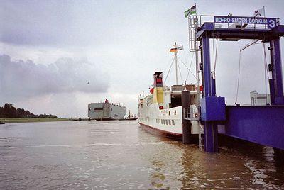 Veerboot naar Borkum
