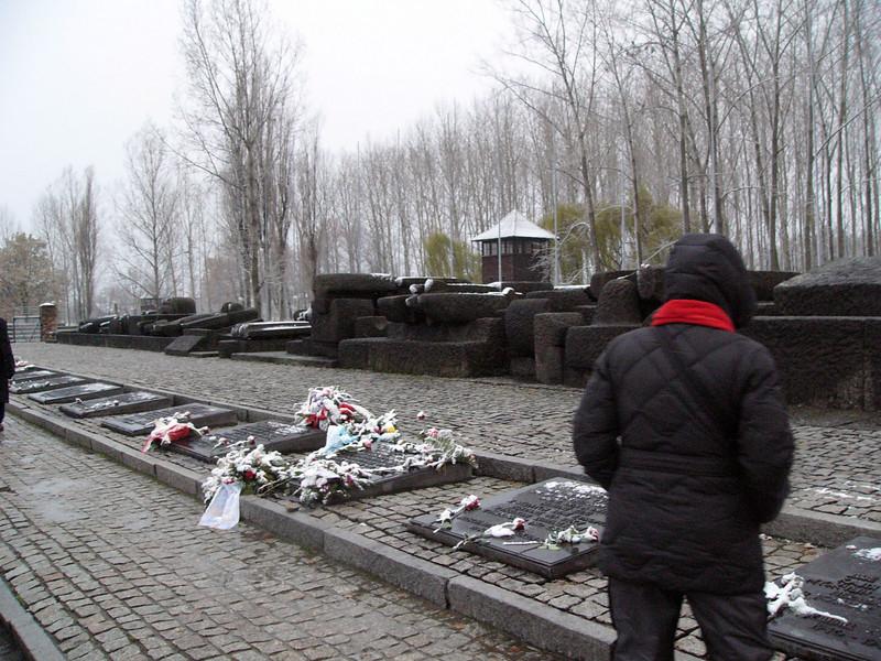 Soviet memorial at Auschwitz