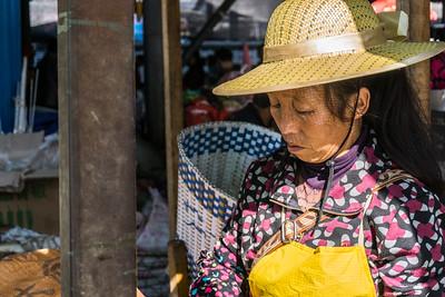In Lijiang market