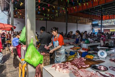 The market in Lijiang