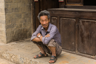 On the streets of Yunnanyi