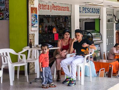 Street scene in Penol