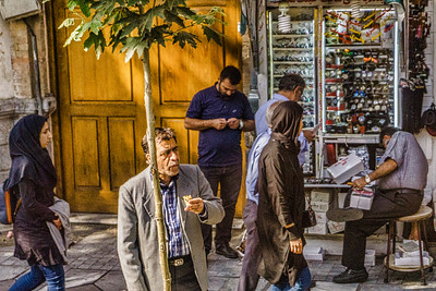 On the streets of Tehran