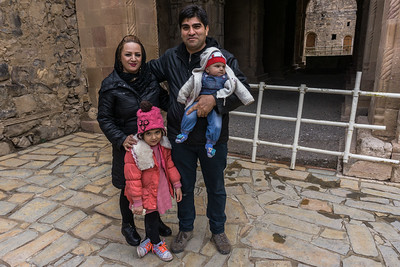 The family that I first met in Tabriz