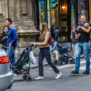on the streets of Palermo