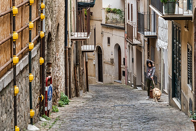 On the streets of Castelbuono