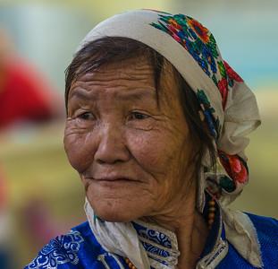 A woman in Ulaanbaatar