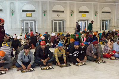 As with all Sikh Gurdwaras, the concept of langar is practiced, and all people, regardless of race or religion may eat in the Gurdwara kitchen (langar hall).