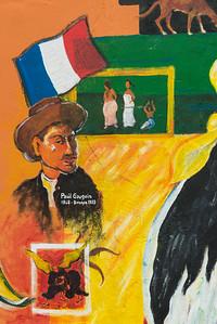 Paul Gauguin visited in 1887.