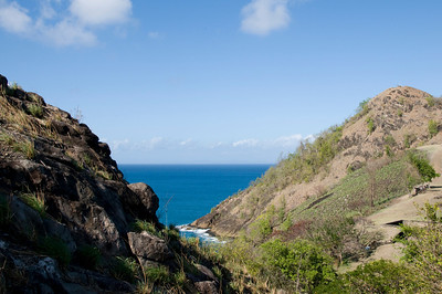 View toward Martinique from Pigeon Island