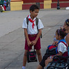 Chatting before school starts