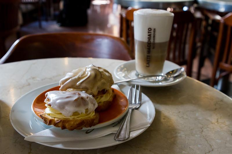 In Cafe Slavia