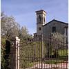 Chapel adjacent to Castello Vicchiomaggio.