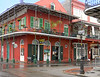 Dauphine and Bourbon Street - New Orleans