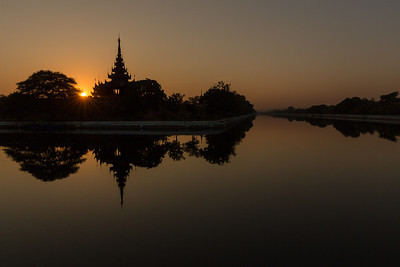 Mandalay Sunset