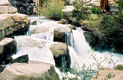 Sonora Pass Waterfall 01