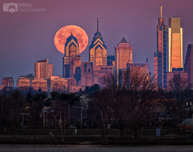 Moon over Philly 2